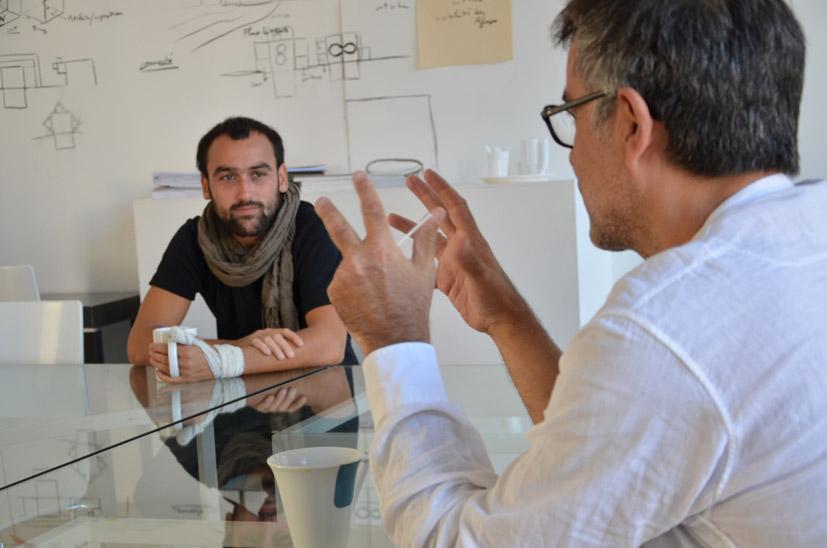 Aymeric Caulay et Fabrice Hyber, 2013